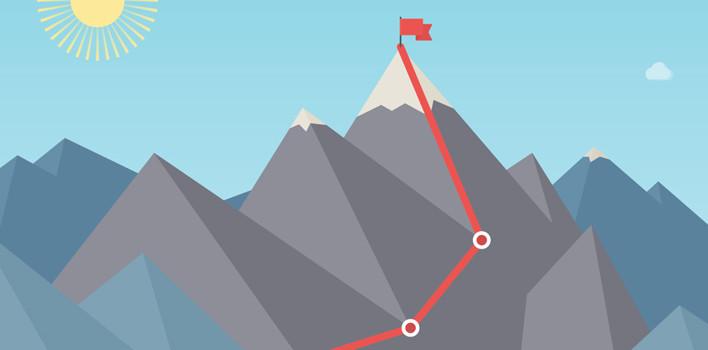 El camino para lograr los objetivos.