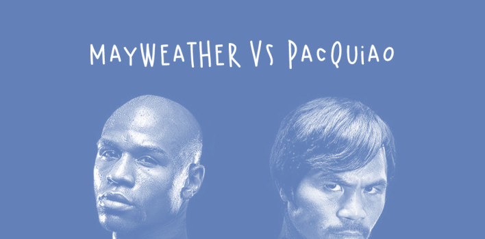 La pelea Mayweather-Pacquiao