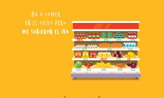 El IVA en alimentos de tienda