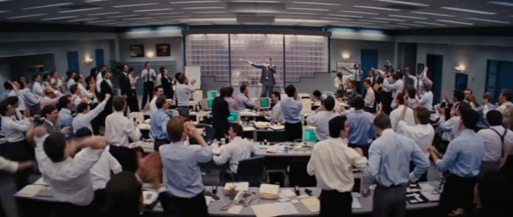 personas en una conferencia de oficina