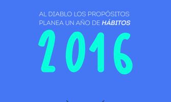 2016: un año de hábitos