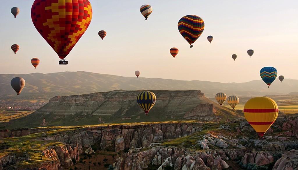 Feria de globos aerostáticos