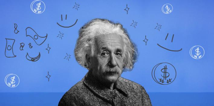 El valor de la felicidad según Einstein