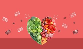 Cómo comer más saludable sin gastar una fortuna
