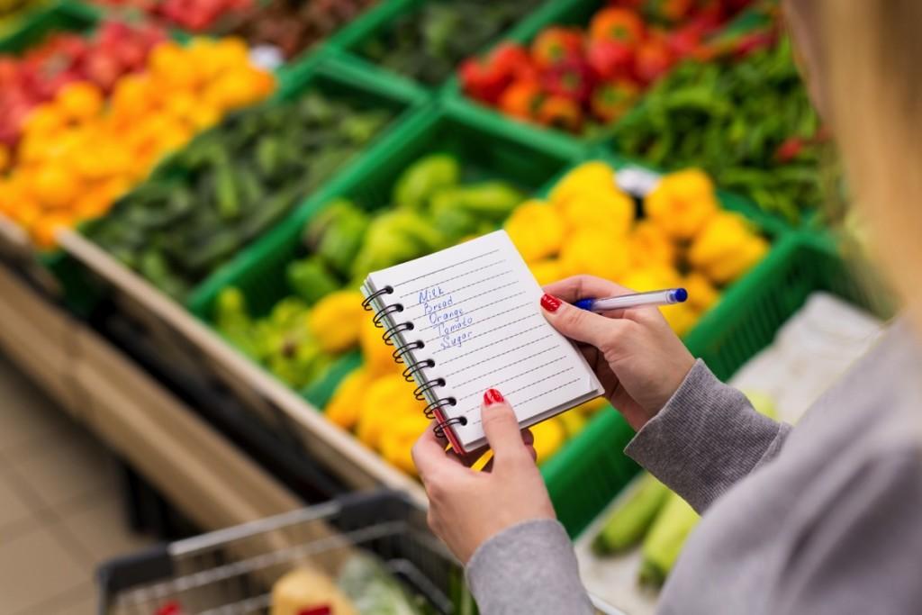 Lista de súpermercado