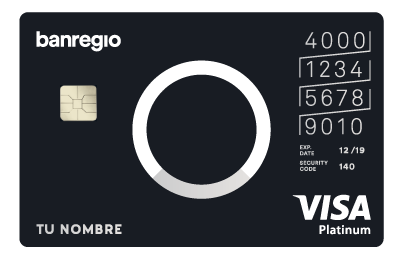 Tarjeta de Crédito BanRegio Platinum