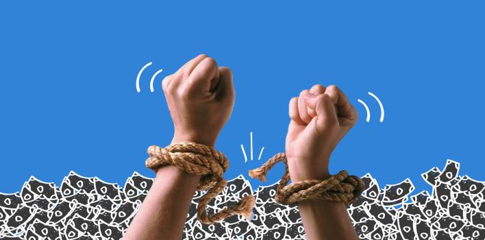 11 cosas simples que puedes hacer diariamente para salir de deudas