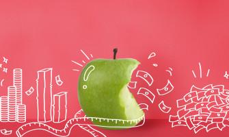 Aprendí a ahorrar comiendo manzanas