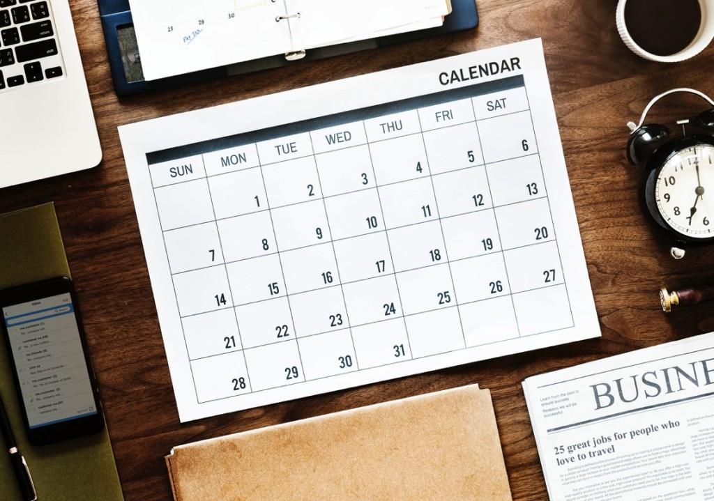 Calendar-tiempo